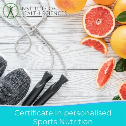 certificate in personalised sports nutrition